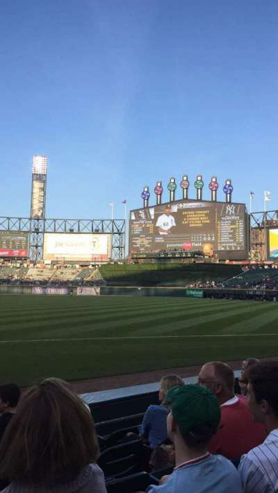 Guaranteed Rate Field, section: 120, row: 6, seat: 8