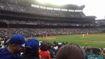 Safeco Field, section: 121, row: 16, seat: 1