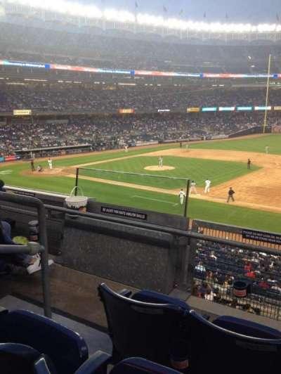 Yankee Stadium, section: 214A, row: 3, seat: 9
