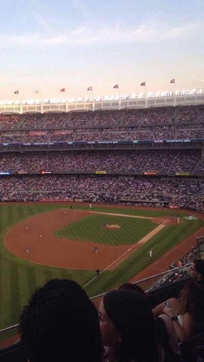 Yankee Stadium, section: 431a, row: 4, seat: 4