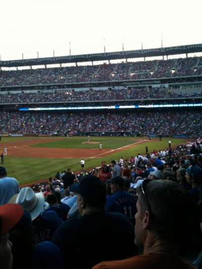 Globe Life Park in Arlington, section: 12, row: 28, seat: 13