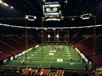 Moda Center, section: 208, row: E, seat: 5
