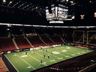 Moda Center, section: 219, row: J, seat: 3