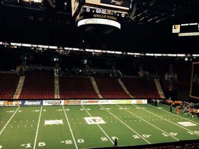 Moda Center, section: 202, row: C, seat: 2