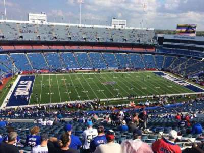 New Era Field, section: 336, row: 35, seat: 8