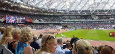 London Stadium section 133
