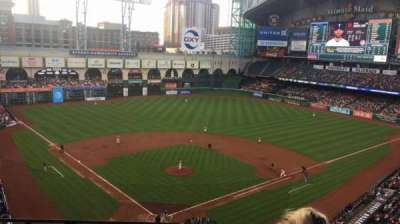 Minute Maid Park, section: 320, row: 2, seat: 5