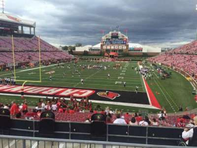 Papa John's Cardinal Stadium, section: 217, row: HF, seat: 6