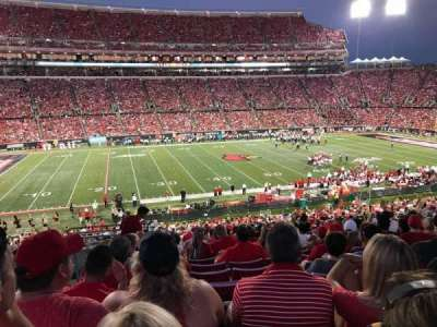 Cardinal Stadium, section: 232, row: W, seat: 122