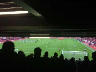 Anfield, section: Anfield Road Lower Tier Block , row: 34, seat: 159
