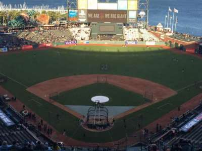 AT&T Park, section: 315, row: 18, seat: 5