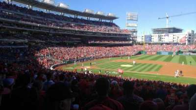 Nationals Park, section: 130, row: UU, seat: 5
