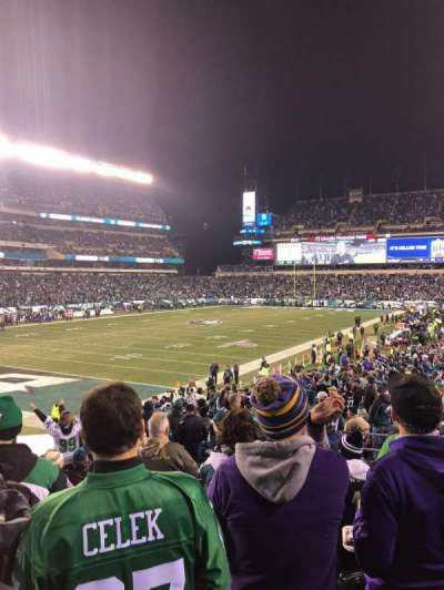Lincoln Financial Field section 132