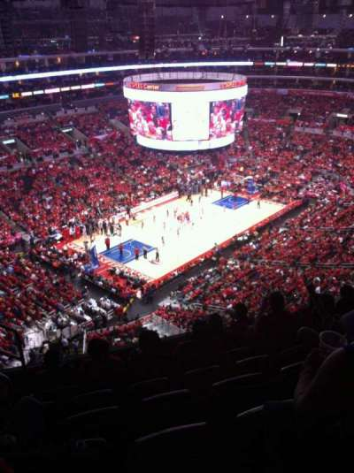 Staples Center, section: 322, row: 7, seat: 10