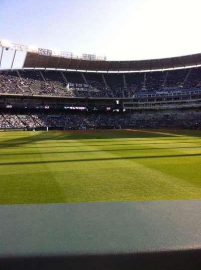 Kauffman Stadium, section: 103, row: A, seat: 3