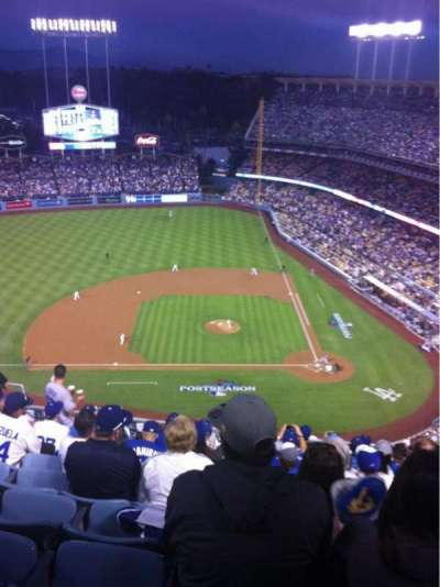 Dodger Stadium, section: 13TD, row: K, seat: 12