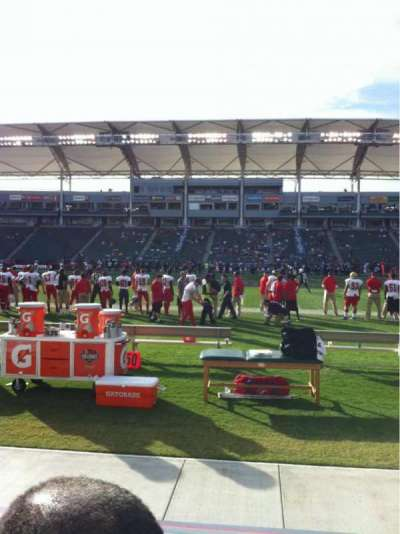 StubHub Center section 132