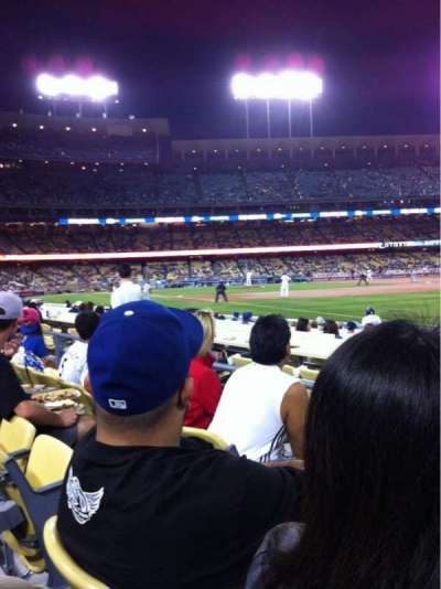 Dodger Stadium, section: 42FD, row: C, seat: 3