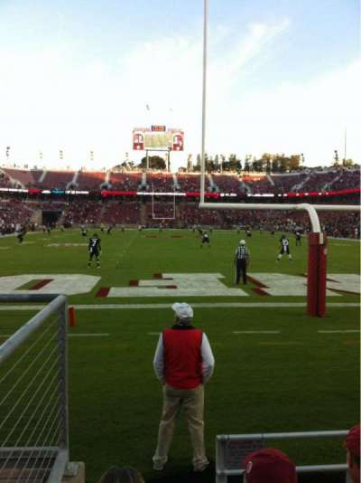 Stanford Stadium, section: 123, row: B, seat: 21