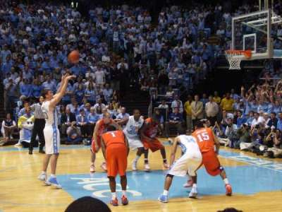 Dean Dome, section: 109, row: B, seat: 12