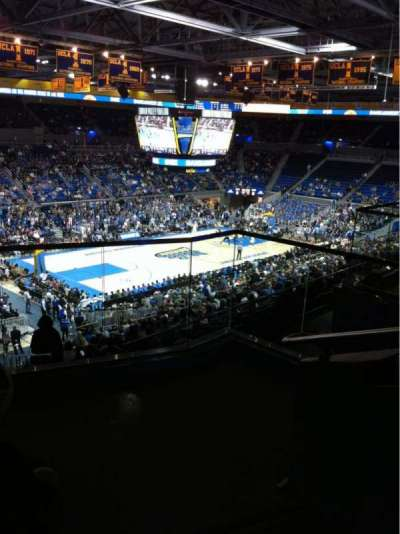 Pauley Pavilion, section: 206A, row: 4, seat: 1