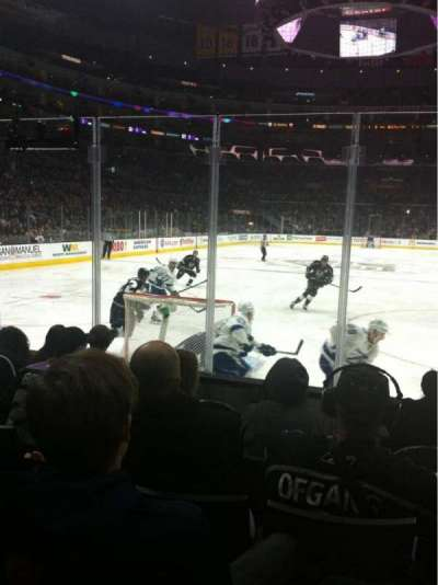 Staples Center, section: 106, row: 7, seat: 13