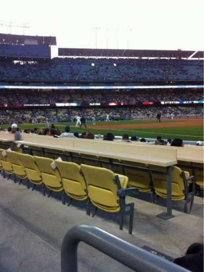 Dodger Stadium, section: 38FD, row: A, seat: 2