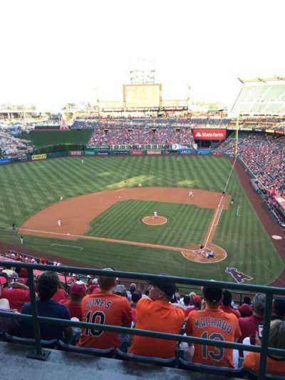 Angel Stadium, section: V517, row: A, seat: 14