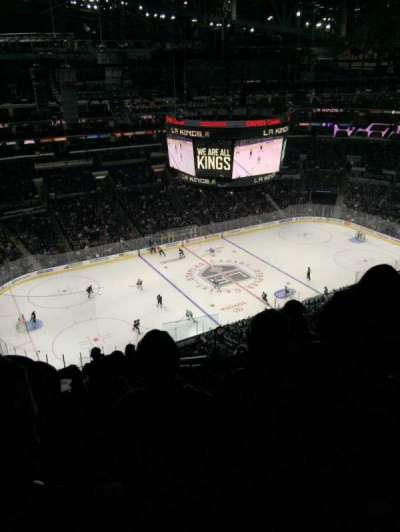 Staples Center, section: 304, row: 11, seat: 4
