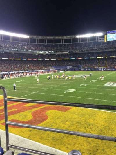 Qualcomm Stadium, section: P55, row: B, seat: 3