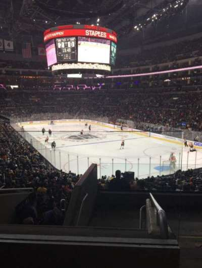 Staples Center, section: 209, row: 7, seat: 19