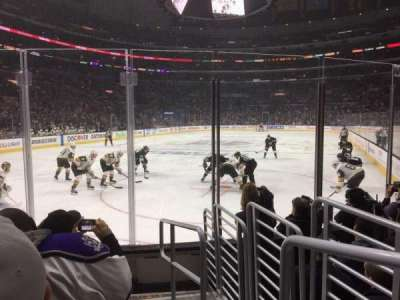 Staples Center, section: 115, row: 7, seat: 1