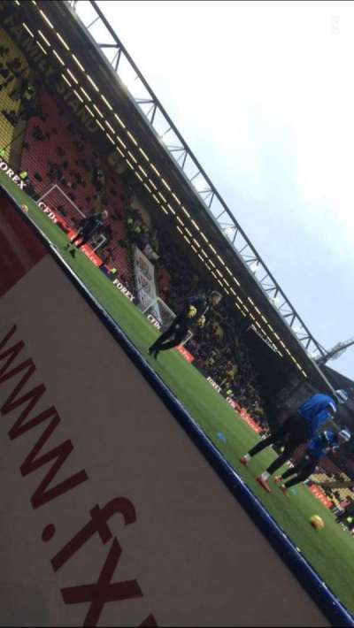 Vicarage Road section Graham Taylor Stand