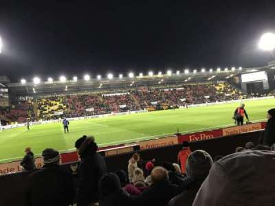 Vicarage Road section Graham Taylor Stand- LGT1