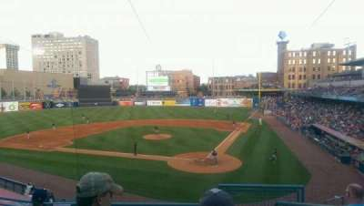 Fifth Third Field, section: 207, row: E, seat: 1