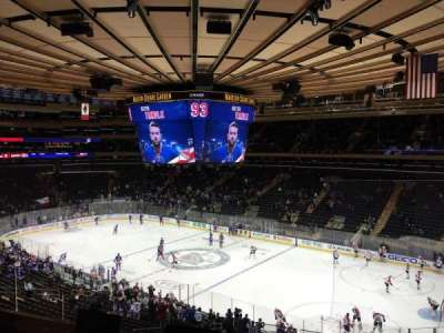 Madison Square Garden, section: 214, row: 4