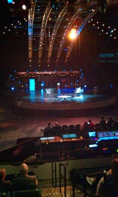 Dr Pepper Arena, section: 128, row: K, seat: 1