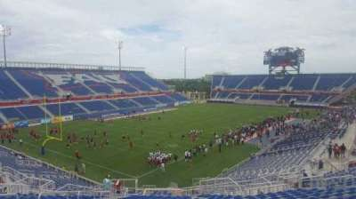 FAU Stadium, section: 213, row: V, seat: 18