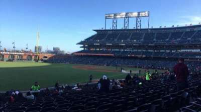 AT&T Park, section: 132, row: 26, seat: 11