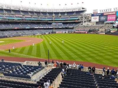 Yankee Stadium, section: 210, row: 1, seat: 1