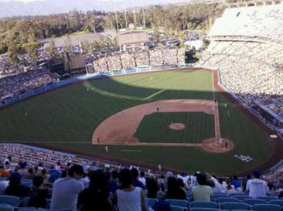 Dodger Stadium section 11TD