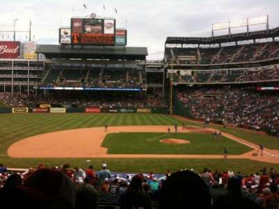Globe Life Park in Arlington, section: 120, row: 33