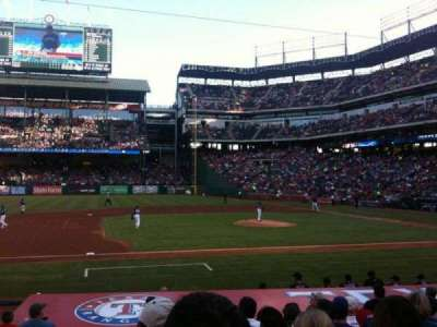 Globe Life Park in Arlington, section: 19, row: 13, seat: 1