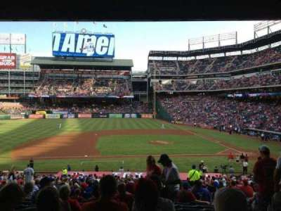 Globe Life Park in Arlington, section: 120, row: 34, seat: 5