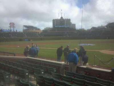 Wrigley Field, section: 17, row: 6, seat: 104