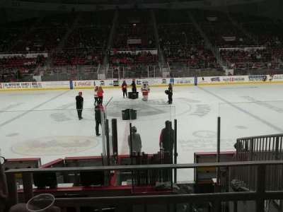 Bojangles' Coliseum, section: 123, row: G, seat: 6