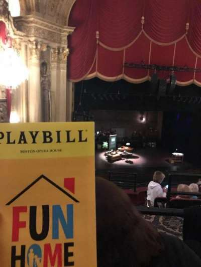 Boston Opera House, section: Mezz Left Cent, row: B, seat: 113