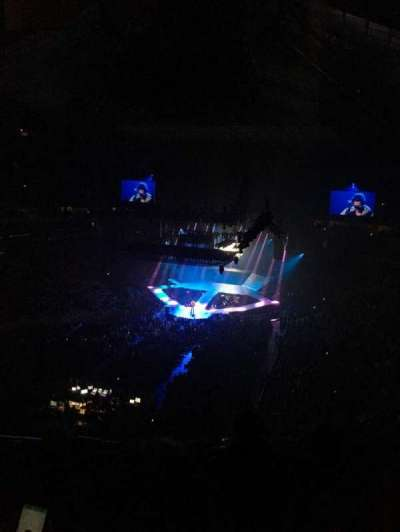 KeyArena, section: 209, row: 9, seat: 4