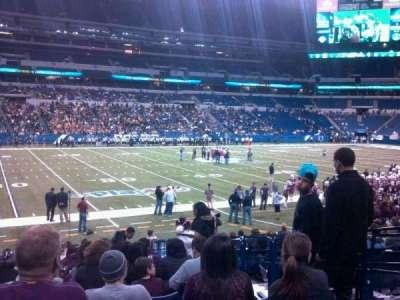 Lucas Oil Stadium, section: 143, row: 15, seat: 4