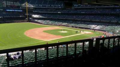 Miller Park, section: 228, row: 19, seat: 12